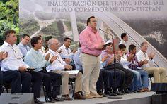 El Corredor México-Tuxpan muestra la decisión del presidente Enrique Peña Nieto por transformar a México de fondo y de manera integral.