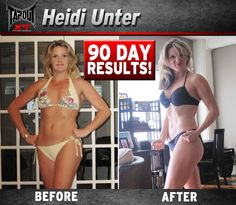 Heidi got ready for summer with TapouT XT