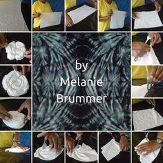 Learn to tie dye with Melanie Brummer