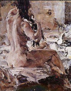 _₳Ɽ₮_ Nicolai Ivanovich Fechin Sexy Painting, Figure Painting, Figure Drawing, Painting & Drawing, Chichu Art Museum, Exotic Art, Indian Art Paintings, Anime Comics, Portrait Art