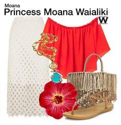 Inspired by Disney's Princess Moana from Moana Disney Princess Fashion, Disney Inspired Fashion, Disney Style, Disney Themed Outfits, Disney Bound Outfits, Moana Outfits, Hawaian Party, Princess Moana, Estilo Disney