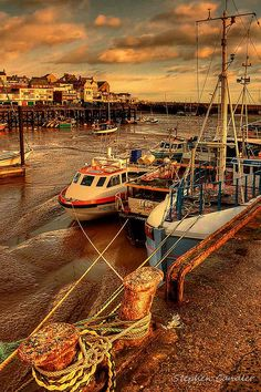 Tide Out In The Harbour by Light+Shade [spcandler.zenfolio.com], via Flickr