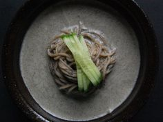 summer's coming, which means kong-guk-su (bean noodles) are coming! They are so healthy (ground black beans and cucumber)