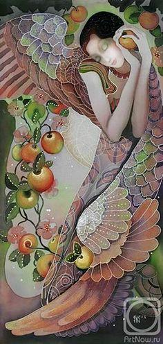 Il mondo di Mary Antony: Sokolova Nadezhda Stepanovna - Paintings on batik