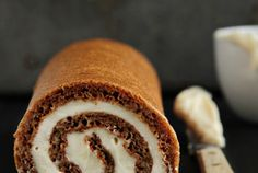 Pumpkin Roll — Recipe from My Baking Addiction
