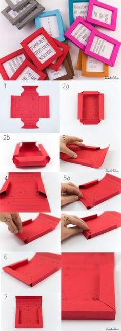 Diy Paper Frame Tutorial and Printable