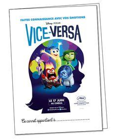 Travailler sur les émotions en EMC avec Vice-Versa de Disney-Pixar, c'est possible !!!