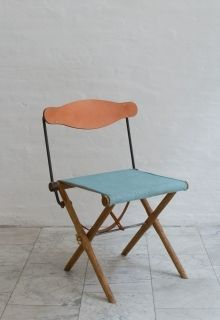 Out of budget but I love this. Vintage camp chairs would be fun to have. FURNITURE   SEATING   BDDW
