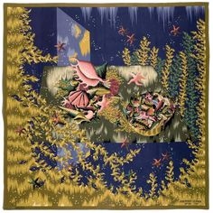 d011786b188 View Les Algues By Jean Picart leDoux  Polychrome wool woven on cotton