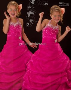 Wholesale New Pageant dresses for kids dresses for weddings Kids evening gowns flower girls dresses 2013 f192, Free shipping, $87.36-91.84/Piece | DHgate