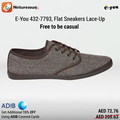 Make a unique style statement with these shoes. Woodland Shoes, Thing 1, French Brands, All Black Sneakers, Lace Up, Flats, Brown, Casual, Appliances