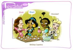 Pocket Princesses 105: Cupcakes! (some things never change)