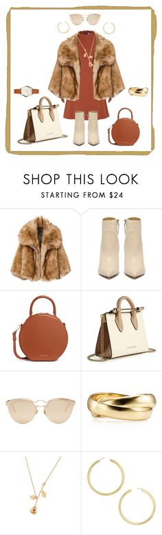 """✨"" by lilith-lily-potter ❤ liked on Polyvore featuring Mansur Gavriel, Strathberry, Christian Dior and BaubleBar"