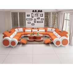 60 expressions of love modern curved top grain round leather sofa living room 8