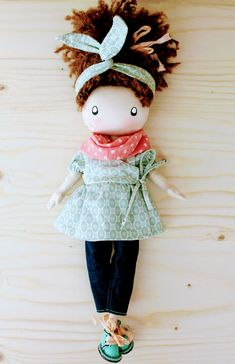 www.etsy.com/shop/DollsLittleAngels  #cutedolls #clothdolls #bestgirlgift
