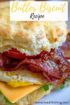 Do you love those country butter biscuits. You can easily make them at home! | http://homesteadwishing.com/butter-biscuits-recipe-2/  | biscuit-recipe, butter-biscuit-recipe, popular-biscuit-recipe, biscuit-recipes | Homestead Wishing, Author Kristi Wheeler