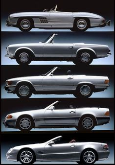 Visual History of the Mercedes SL