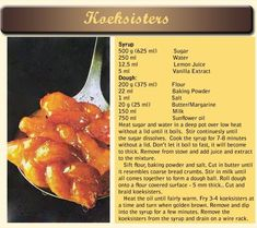 Koeksisters South African Dishes, South African Recipes, Ethnic Recipes, Africa Recipes, Koeksister Recipe South Africa, Koeksisters Recipe, Nigerian Food, Food Inspiration, Sweet Recipes