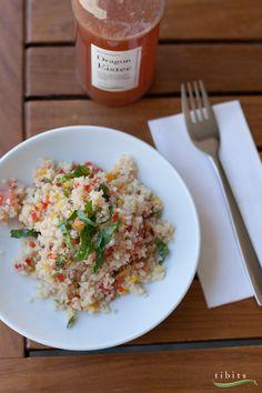 Wer's im Sommer gerne leicht mag, hält sich an unsere riesige Salatauswahl. Für den neuen Quinoa-Salat haben wir uns in Peru inspirieren lassen.