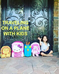 TIPS ON TRAVELING ON A PLANE WITH KIDS