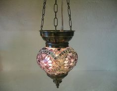 White mosaic hanging lamp moroccan lantern lampe mosaiqe türkische lampen 011 #Handmade #mosaichanging
