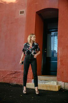 Brooke Testoni, Matin Studio, Rollas Denim, Christian Louboutin, Outfits, ootd, Street Style, Blogger