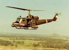 174th AHC SHARKS, flying UH-1C and UH-1M Huey gunships from 1966-1971