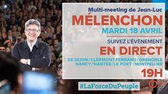 EN DIRECT -  MÉLENCHON : MULTI-MEETING HOLOGRAMME - #LaForceDuPeuple