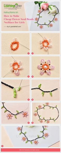 flower necklace, like this one