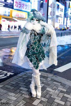 Minori | a short video about her & the Shiro-Nuri / shironuri subculture: 10 February 2014