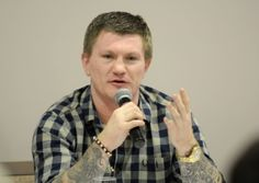 With a little less bravado than an entrance into the boxing ring but just as warm a reception champion boxer Ricky Hatton stepped up to the ...