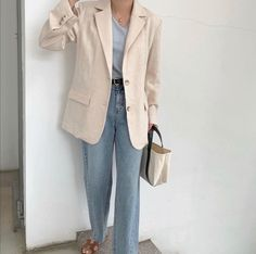 Light Jacket, Beret, New Outfits, Give It To Me, Ootd, Actors, Blazer, Jackets, Clothes