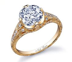 Cool My vintage cushion cut halo engagement ring by Neil Lane I love it