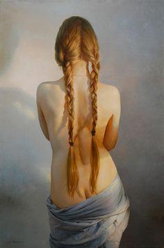 Les peintures sensuelles de l'artiste russe Serge Marshennikov, basé àSaint-Pétersbourg, qui met en scène ses modèles féminins dans des compositions vap