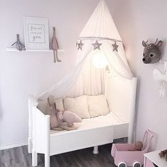 pink, grey and white buggy Nursery Room, Baby Room, Princess Room, Cot Bedding, Little Girl Rooms, Fashion Room, Kid Spaces, Kids Decor, Girls Bedroom