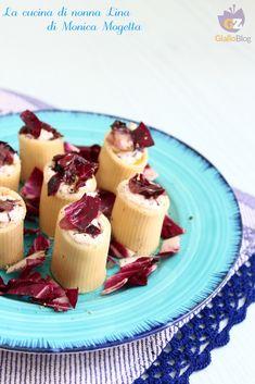 Un primo piatto che è delizia per occhi e palato! #paccheri #paccheriripieni #lacucinadinonnalina #recipe