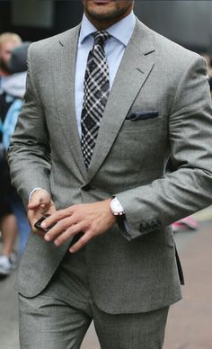 Men's Gray Suit☆