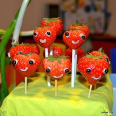 """Cutest berries (inspired by """"Cloudy with a chance of meatballs 2"""")"""