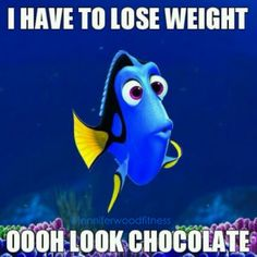 I have to lose weight lol