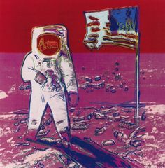 Andy Warhol - Moonwalk - The Taylor Gallery Andy Warhol : More @ FOSTERGINGER @ Pinterest