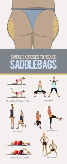 Lose those saddlebags