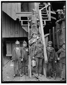 c0411d02276 Breaker boys of the Woodward Coal Mines Kingston Pa.