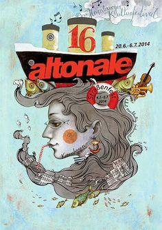 Die Top Ten des altonale-Plakatwettbewerbs 2014