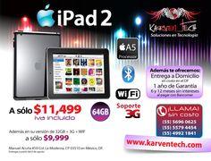 Volante promoción iPad 2