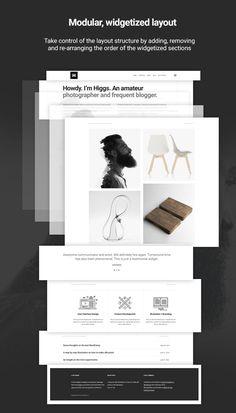 Higgs — A Minimal WordPress Portfolio & Blog Theme