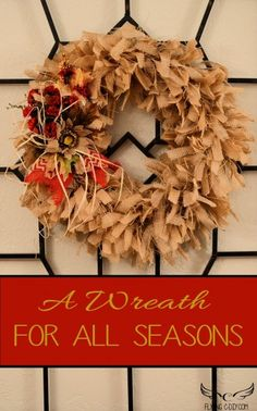 17697 Best Wreaths For All Seasons Images On Pinterest In