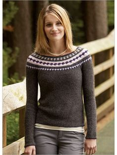 Northern Dreams Pullover Crochet Pattern