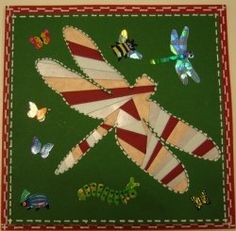 lovin the Dragonfly's Iris Paper Folding, Iris Folding Pattern, Origami Folding, Paper Pieced Quilt Patterns, Paper Piecing, Paper Cards, Folded Cards, Quilting Board, Quilting Tips