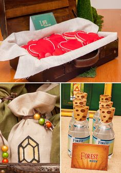 AWESOME Legend of Zelda Birthday Party! I'll do this for my litte Avalee Zelda! Zelda Birthday, 8th Birthday, Birthday Ideas, Pirate Birthday, The Legend Of Zelda, Video Game Party, Party Games, Craft Party, Birthday Party Decorations
