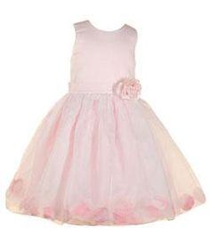 overstock pink flower girl dresses | Sophia's Style Girl's Pink Flower Girl Dress | Overstock.com
